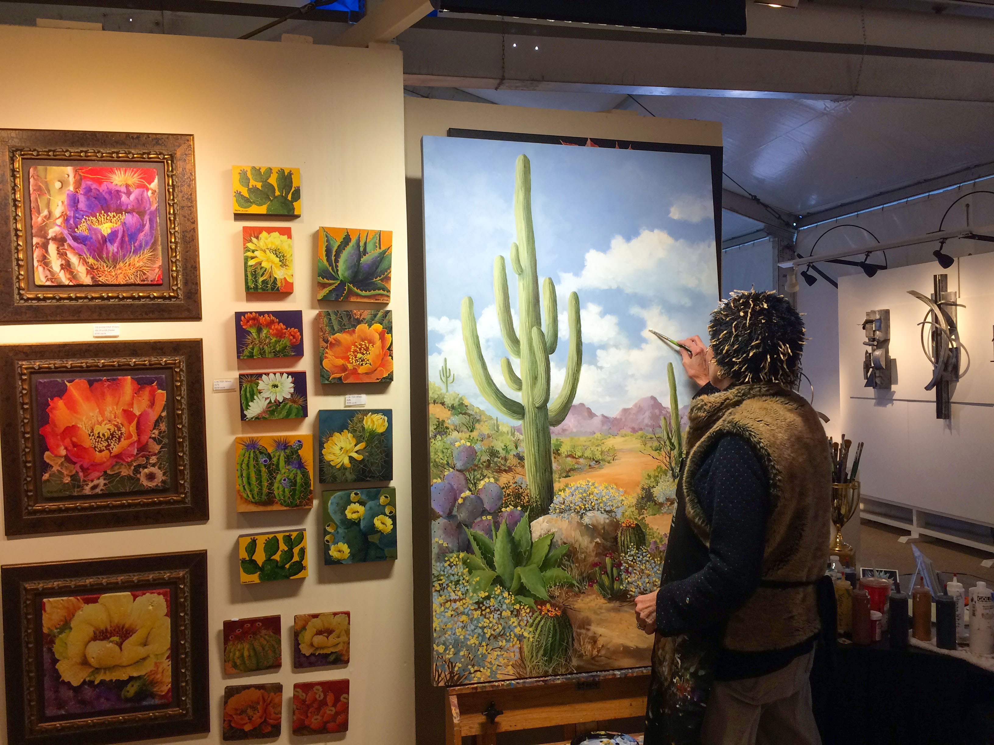 best way to sell art Beth Zink