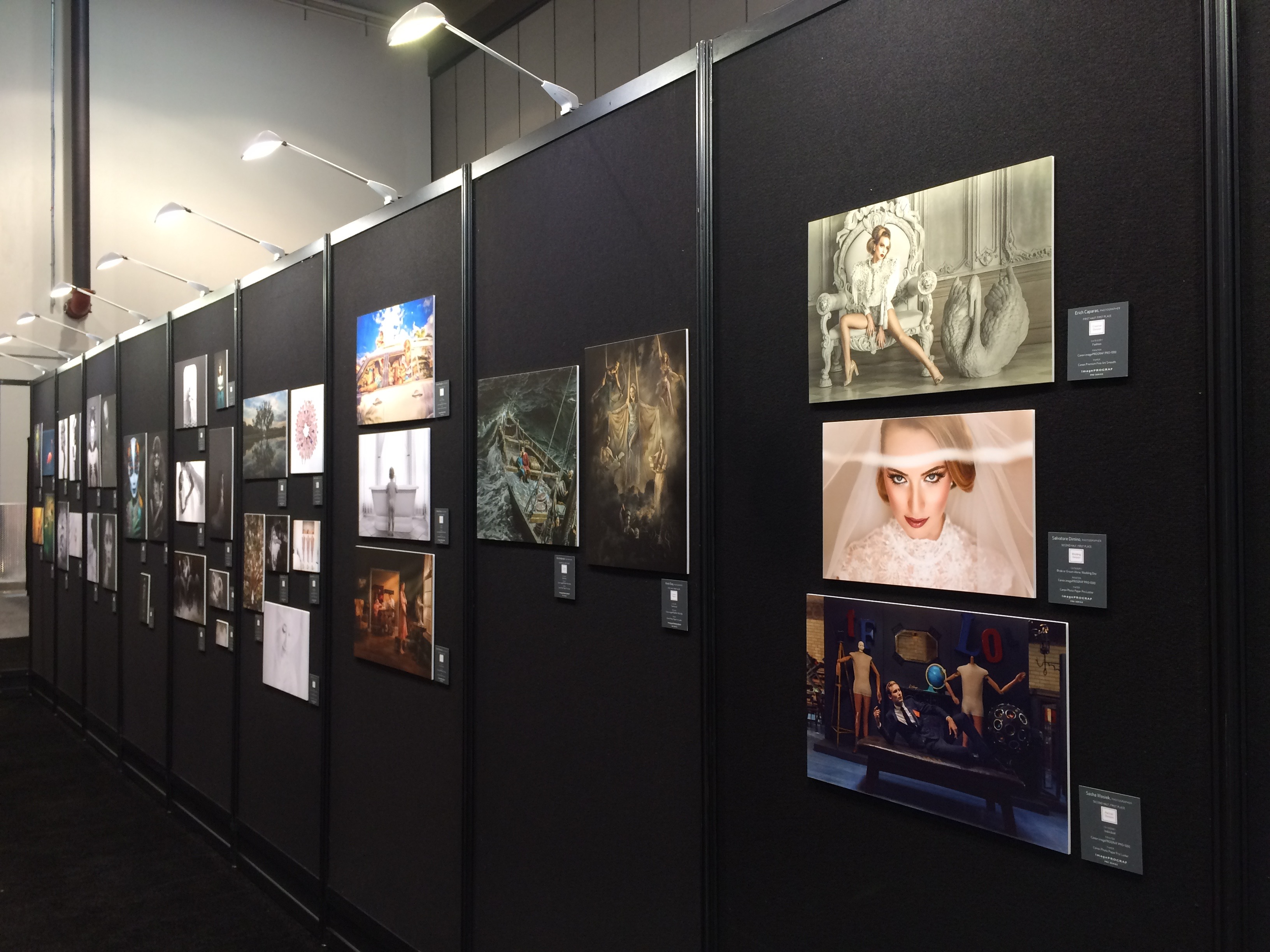 The Wedding and Portrait Photography Expo showed off stylish prints