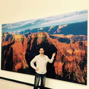 8x16 foot canvas extra large printing using digital art technology
