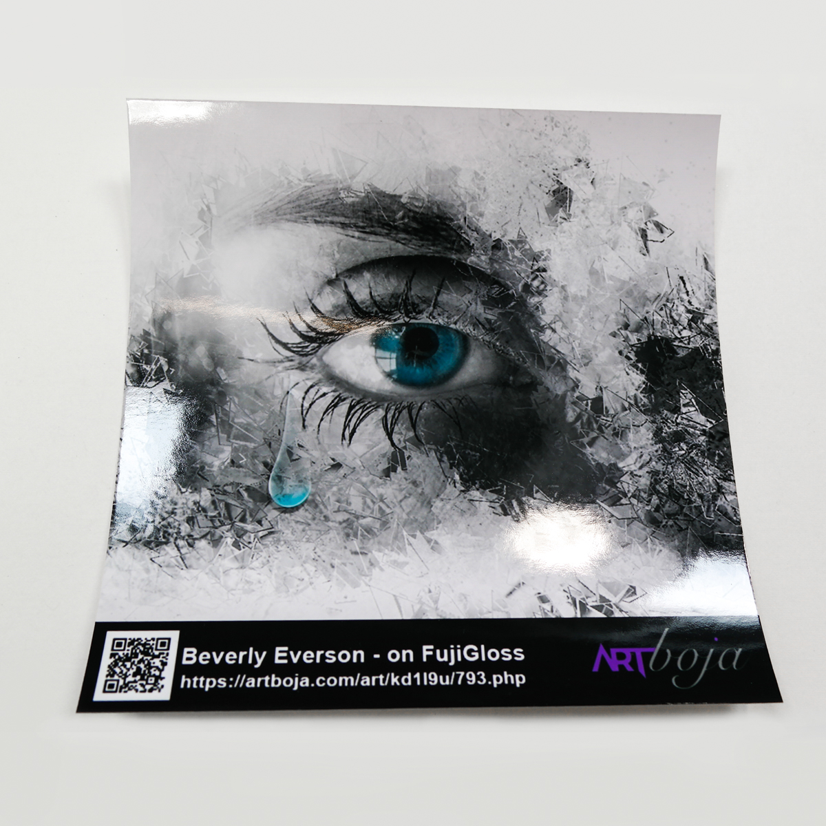 Photo paper glossy printed by ArtisanHD