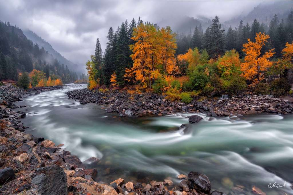 The Wash by nature photographer Aaron Reed